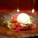 ラパルタメント ディ ナオキ - 白桃とアイスクリーム