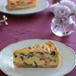 メゾン・カイザー・ショップ - 料理写真:サーモンとほうれん草のキッシュ