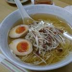 彩 - ネギチャーシュー+味玉