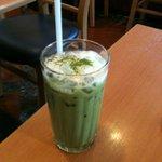 ドトールコーヒーショップ - アイス抹茶ラテ Sサイズ