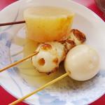 山崎食堂 - 料理写真:おでん