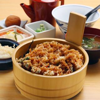 よし平 - 料理写真:海老天ひつまぶし膳