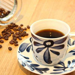 夜カフェコーヒー