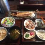 米寿 - 小名浜伴助のサバ 一夜干し 御膳 ¥1,100