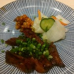 炭焼牛たん東山 - 牛たんつくね丼と熟成味噌牛たんセットです♪