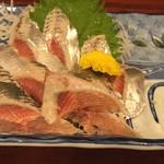 岩亀 - 鰯刺身