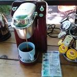 ジャングルブックカフェ - ドリンク写真:ドリンクコーナー