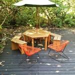 ジャングルブックカフェ - パラソル&テーブル&チェア