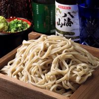 京のあかり - 〆に頂く「セイロ蕎麦」も当店の人気の品で、料理長厳選のそば粉を使用しております。お店でしか食べられない張りのある麺を自家製の特製そばつゆでどうぞ!