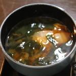 Kuchihacchoukazeyasugihara - 具たっぷりお味噌汁!!(^◇^)