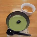 茶のみやぐら - 抹茶プリン250円