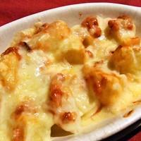 居酒屋 美味 さくら亭 - ホクホクのじゃがいもに塩辛とチーズで北海道を表現。しおからポテトのチーズ焼