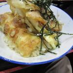 ぶっかけうどん 小野 - ミニ天丼 250円