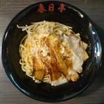 春日亭  - 2016年6月 炙りバラ肉鶏豚油そば 790円