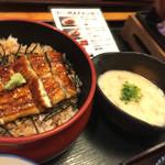 和食処 まさご - 麦とろ鰻御膳の鰻