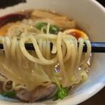 麺屋 正路 - 低加水な直細麺