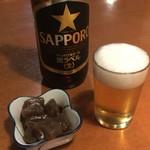 ニユー西国村 - ビール&お通し