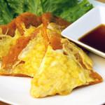 KOREAN DINING ミリネ - キムチチーズチヂミ