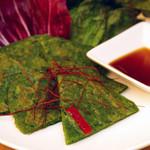 KOREAN DINING ミリネ - ニラチヂミ
