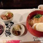 麺喰 - 冷かけうどんセット