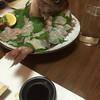 Kappoutempuratentsuyu - 料理写真:予約の時に誕生日というと鯛がつきます!!