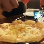 54451812 - ゴルゴンゾーラのピザ