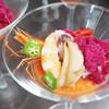 キャンドル卓 渡邉邸 - 料理写真:魚介類のガスパッチョ