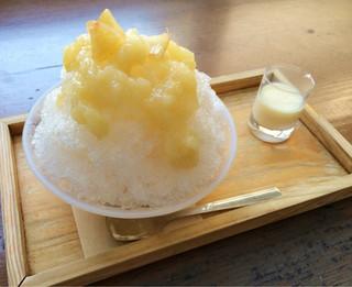 お気軽健康café あげは。 神戸トアロード店 - 白桃