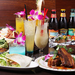 Tsunami Ebisu TOKYO - 自慢のハワイ料理とご一緒にパラダイスビールを!