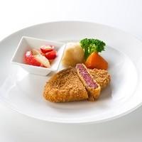レストラン西櫻亭 - 和牛本来の旨みをサクサク衣に閉じ込めました