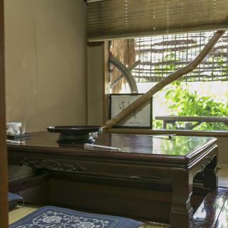 那珂川を望むロケーション抜群の個室部屋