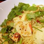 ライノスキッチン - 筍とパクチーのペペロンチーノ