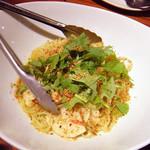 ライノスキッチン - 筍とパクチーのペペロンチーノ ¥980