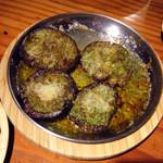 ライノスキッチン - 肉厚生椎茸のブルゴーニュバター、注文マスト!