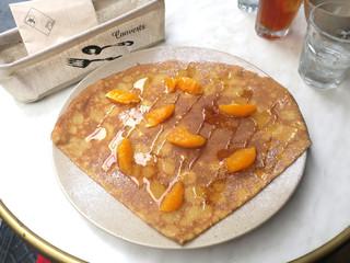 ブレッツカフェ クレープリー ル コントワール 恵比寿店 - 湘南柑橘と蜂蜜のクレープ