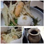 武膳 - ◆スライスしたごぼうはカラッと揚がり、美味しい。 麺も適度にコシがありますので好みです。