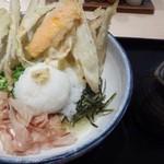 武膳 - ◆ごぼうおろしぶっかけ(750円ですが、麺を少なくして頂きましたので100円引きで650円)