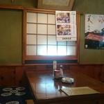 羽田うなぎ店 - 店内。