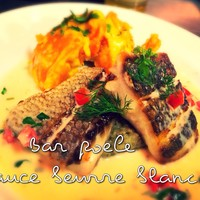 Petit Debút - 鮮魚のポワレ