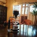 cafe&gallery 三日月や - サイフォンコーヒー。(ホット)