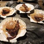 大衆魚酒場 こばやし - 丸ごと帆立バター醤油焼