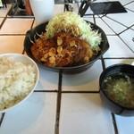 東京トンテキ - 大トンテキ定食