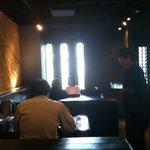 藤堂 - 店内(テーブル席)