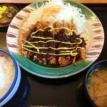 かつさと - 味噌カツ定食(2016.07現在)