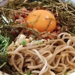 54471751 - 納豆蕎麦(冷かけ蕎麦)