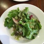 バンディエラ - オクラ、長芋、なめこが入ったサラダ