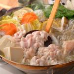 どまん中 - [冬季限定]白子のちり鍋