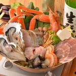 どまん中 - [冬季限定]海鮮ちゃんこ鍋