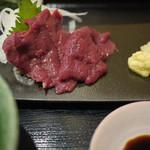 桜肉専門店 さくらさく - 料理写真:馬刺し定食~☆
