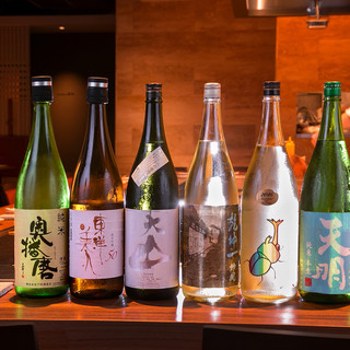お料理に合う日本酒をご用意
